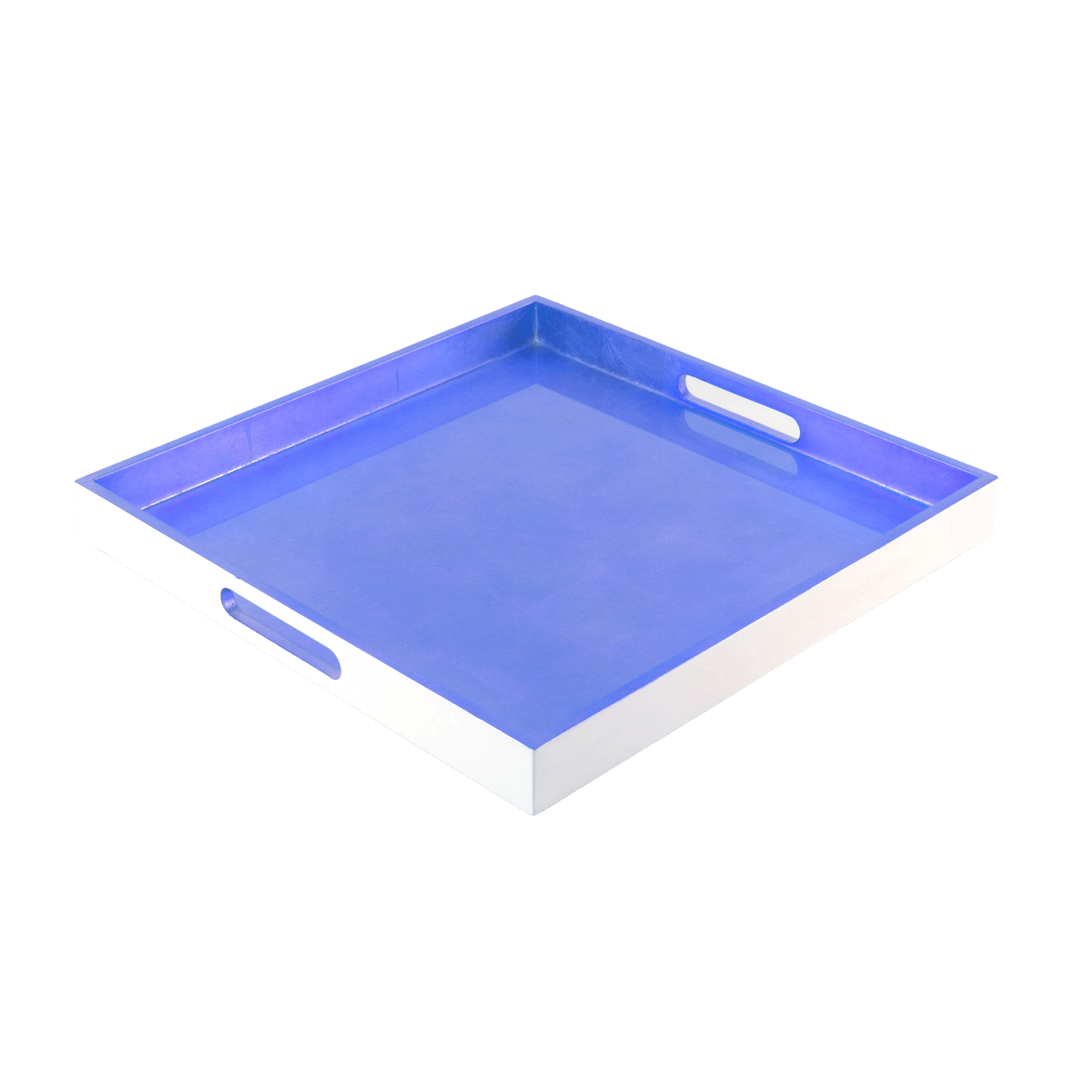 Metallic Color Square Tray