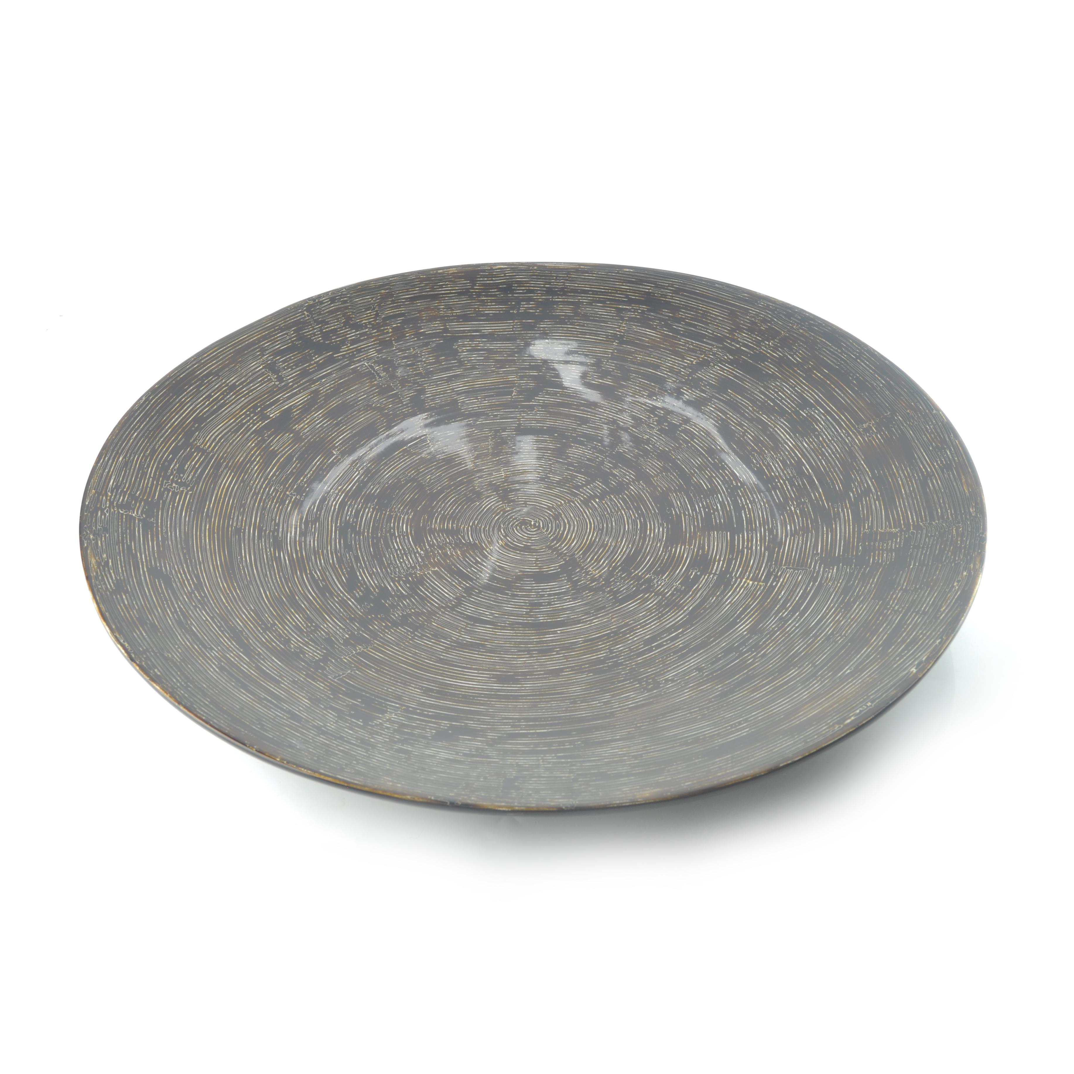 Wood Grain Lacquer Plate