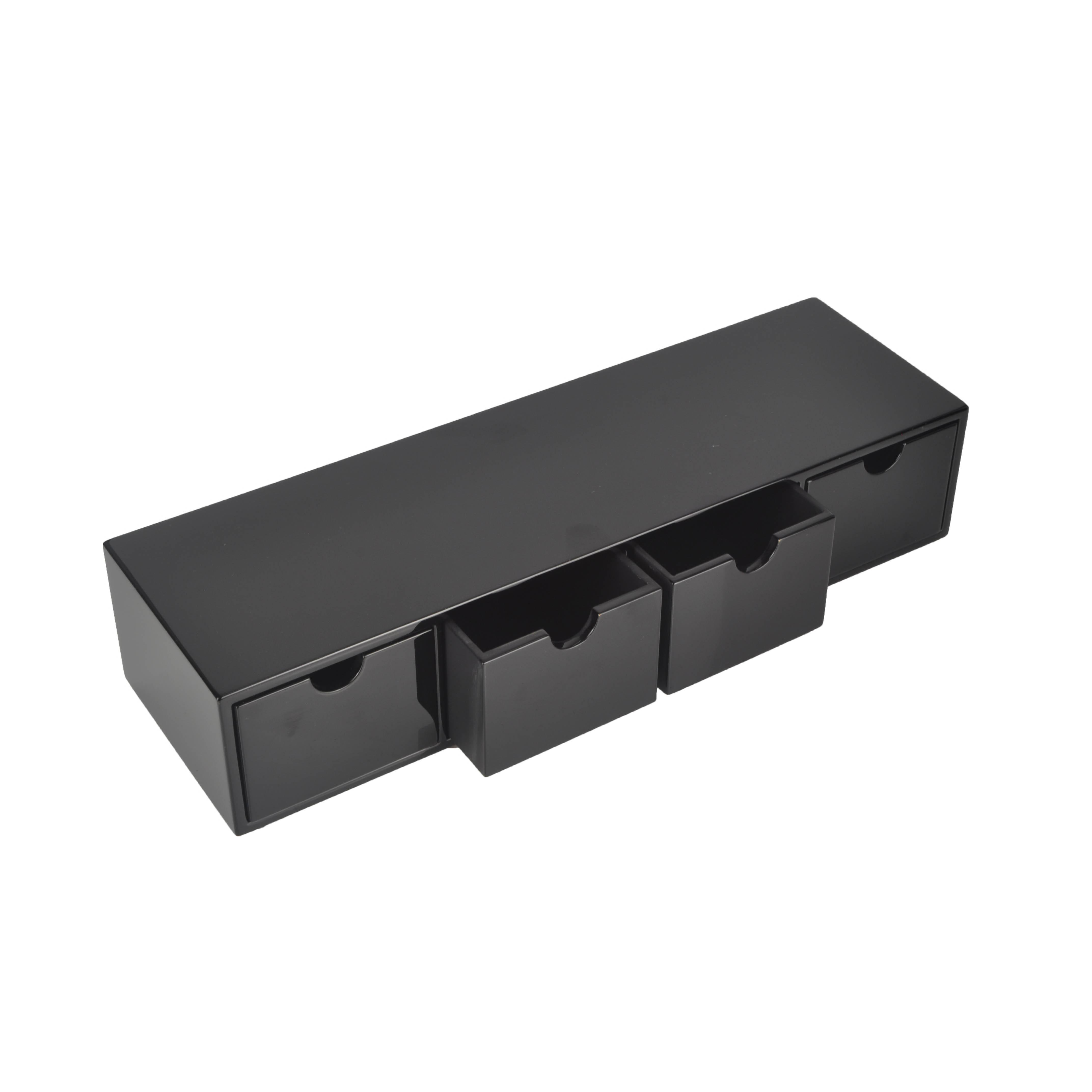 Black Lacquer Small Cabinet
