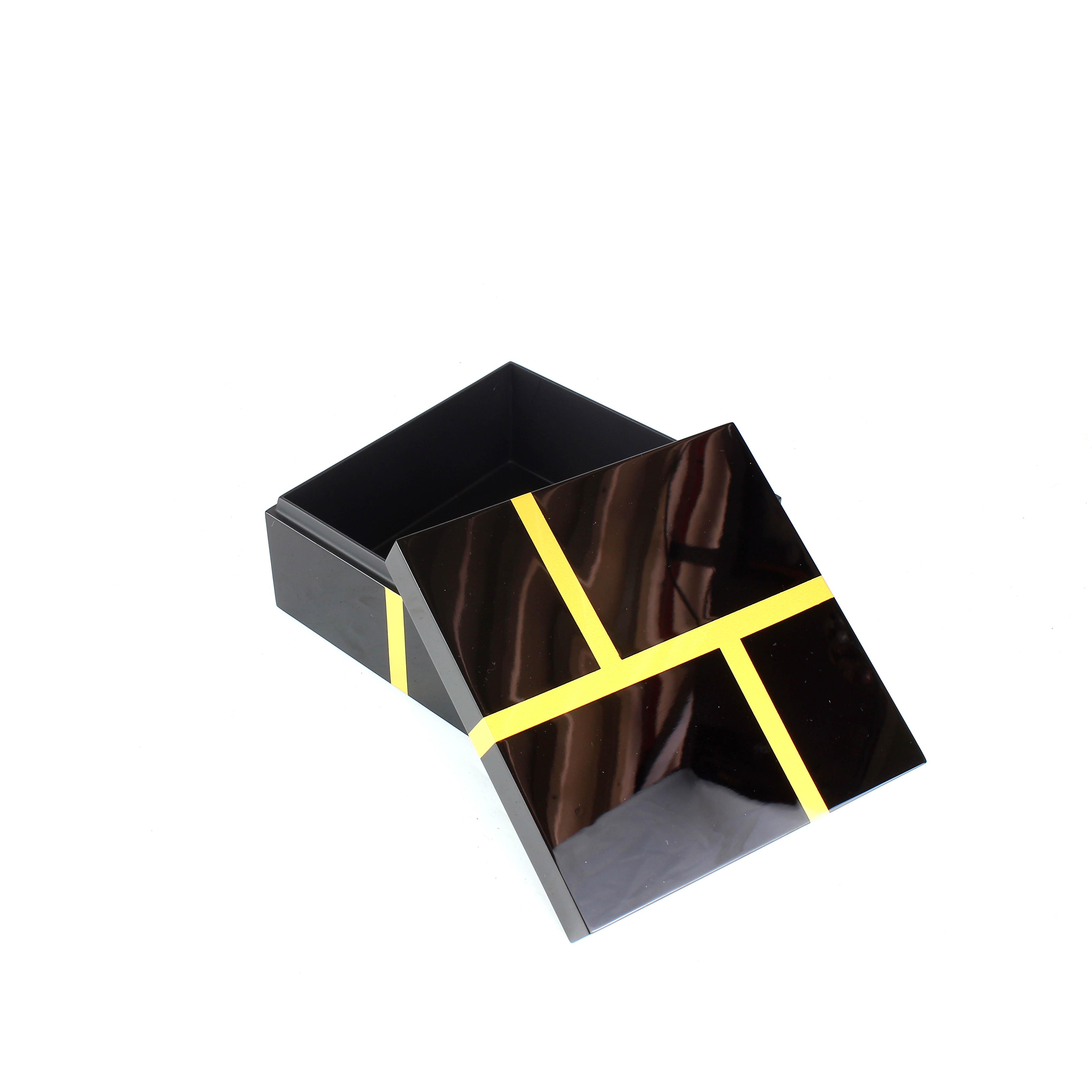 Square Lacquer Box
