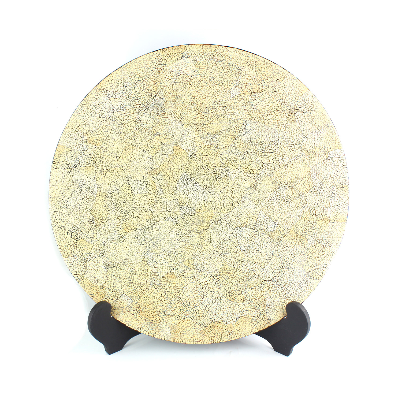 Eggshell Inlay Plate