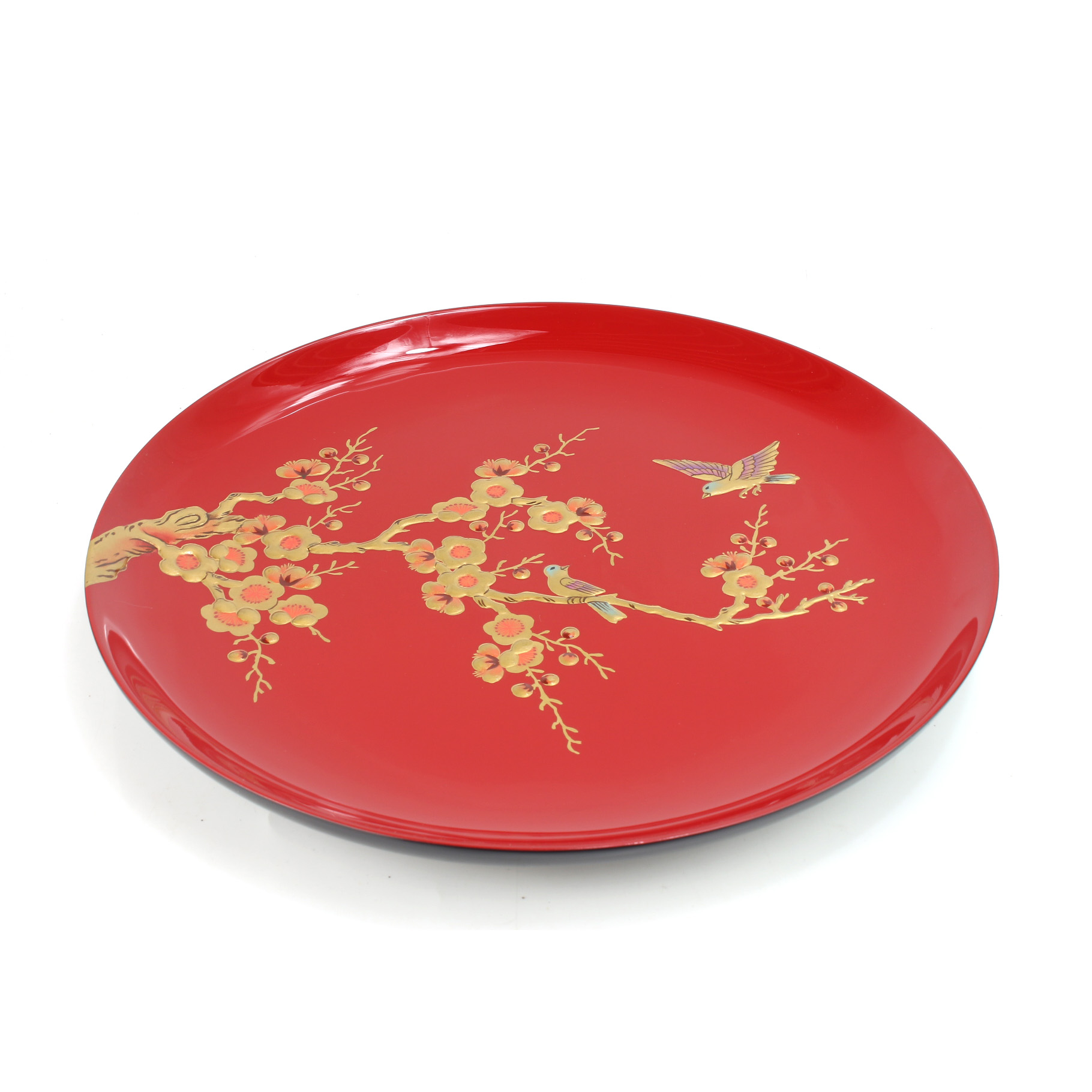 Hand-painted Lacquer Plate