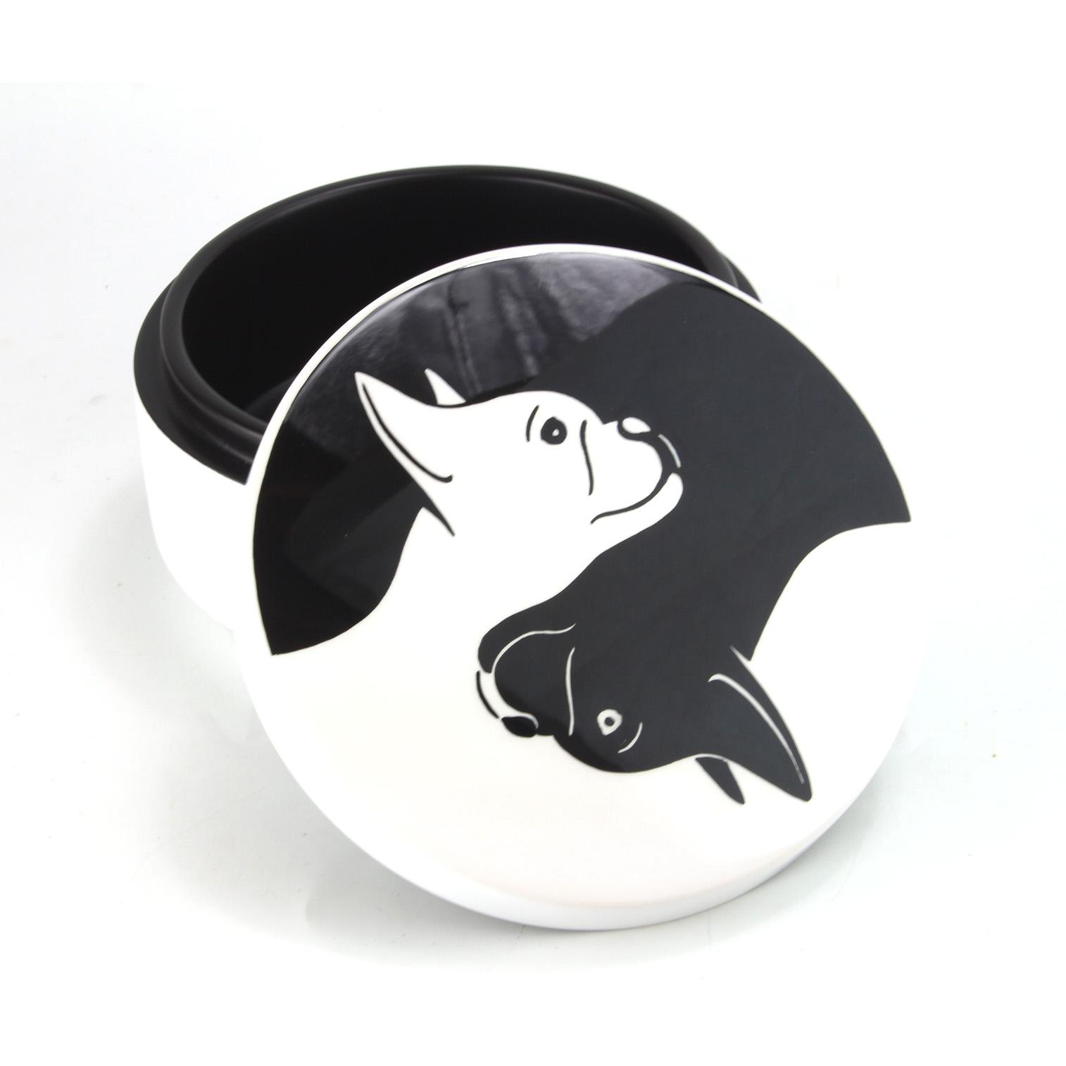 Dog Yin Yang Box