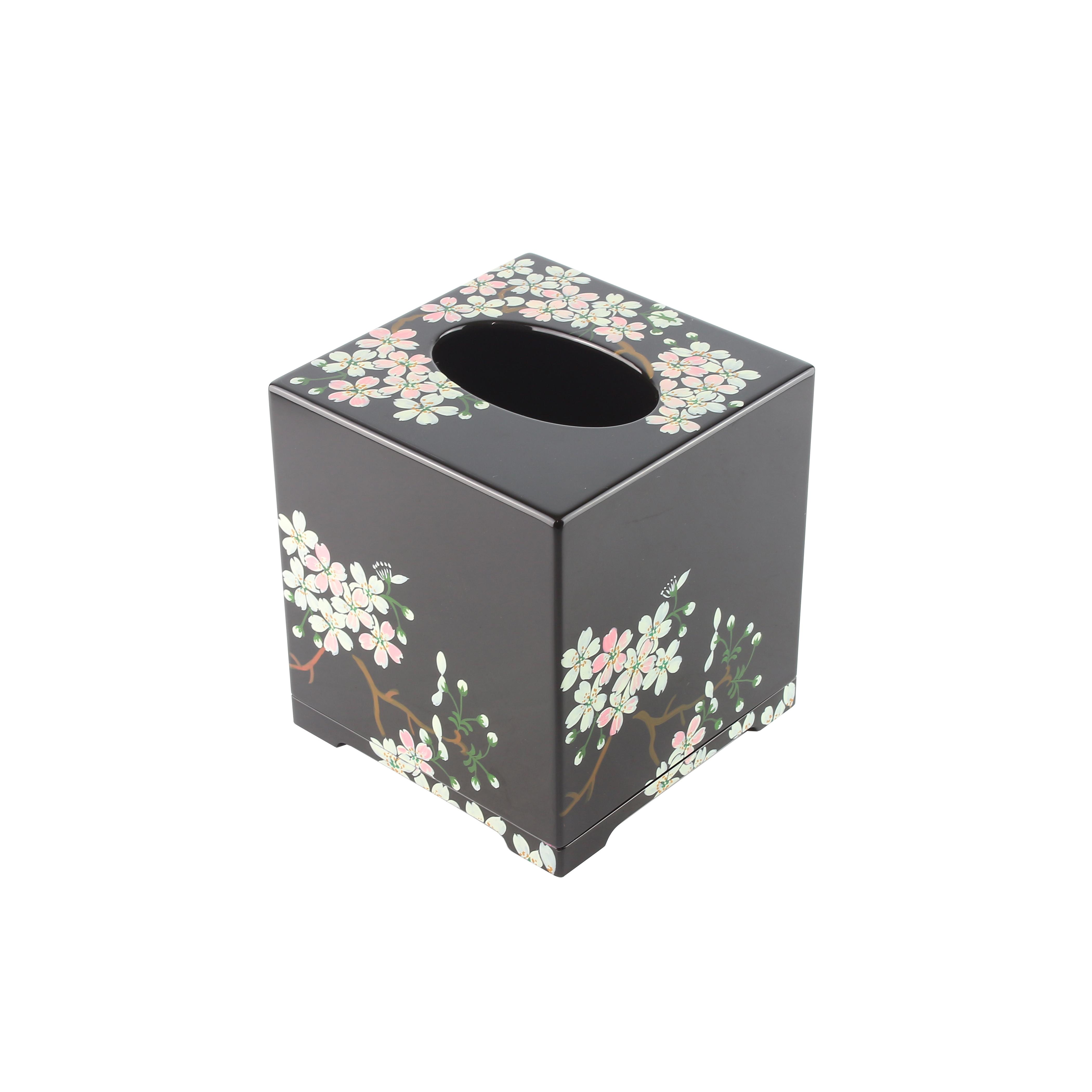 Flower Tissue Box