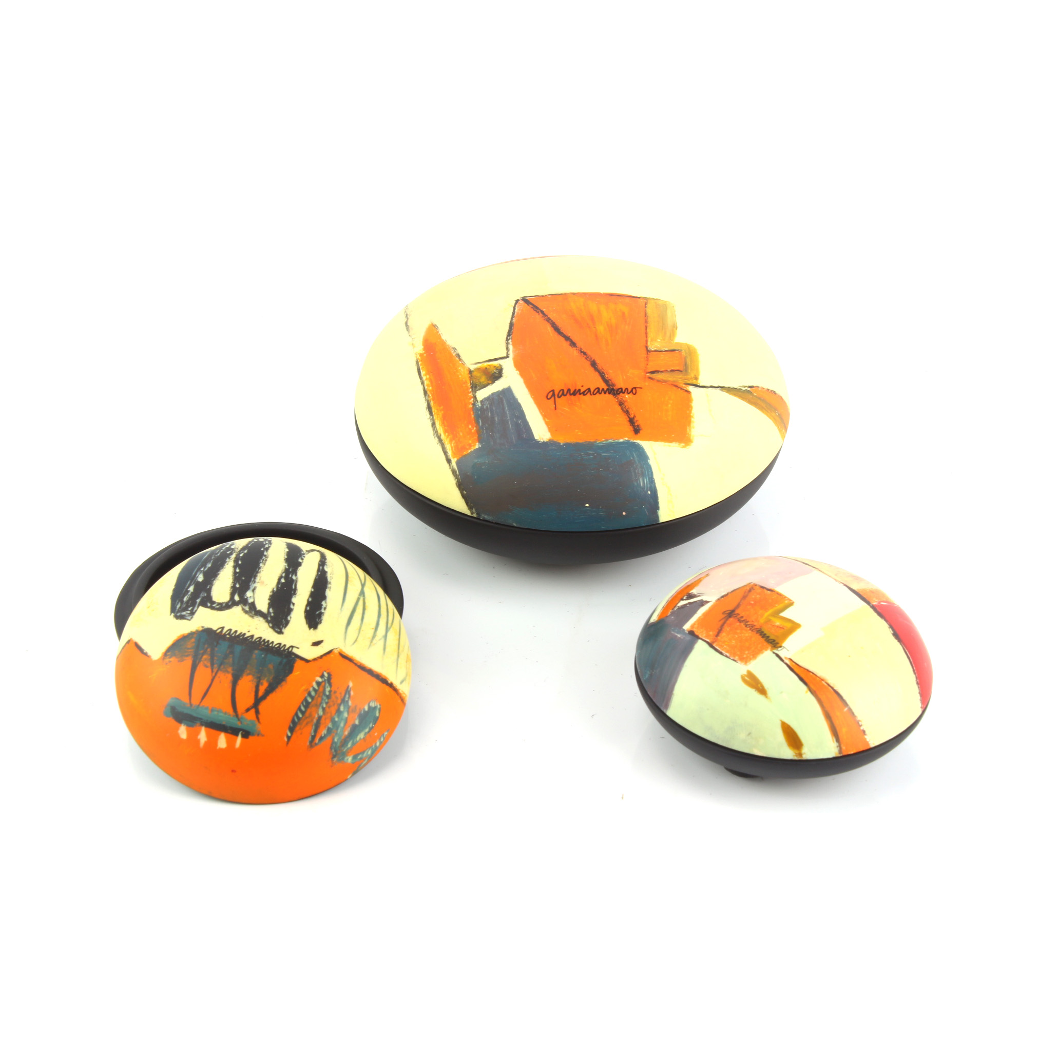 Abstract Round Box