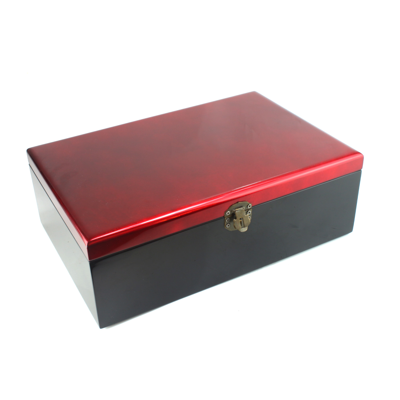 Lacquer Box with Red Velvet