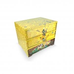 Gustav Klimt 3 Drawer Cabinet