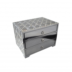 Mother of Pearl Inlay 3 Drawer Cabinet