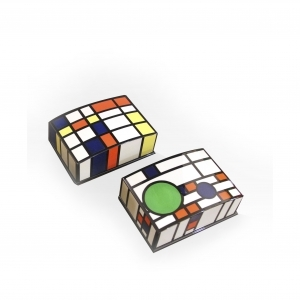 Mondrian Card Holder