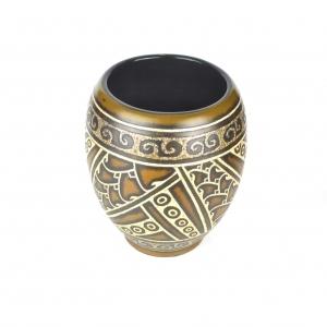 Eggshell Inlay Vase
