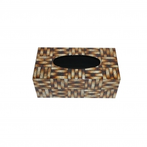 Eggshell Inlay Tissue Box