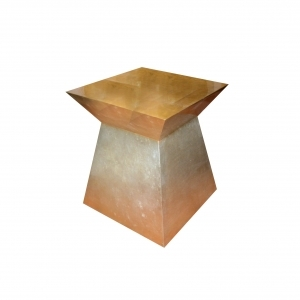 Gold Inlay Side Table