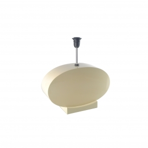 Off White Lacquer Lamp