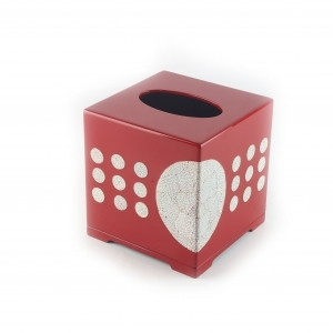 Eggshell Inlay Tissue Box