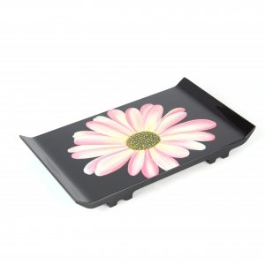 Handpainted Flower Tray
