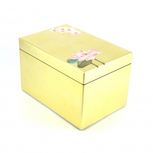 Japanese Hand-painted Lacquer Box