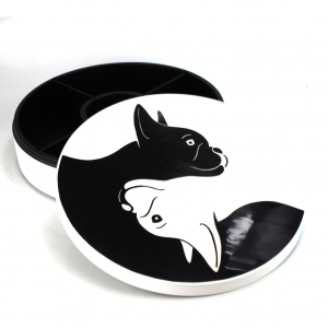 Dog Yin Yang Box