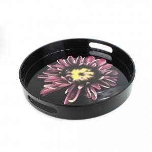Flower Round Tray